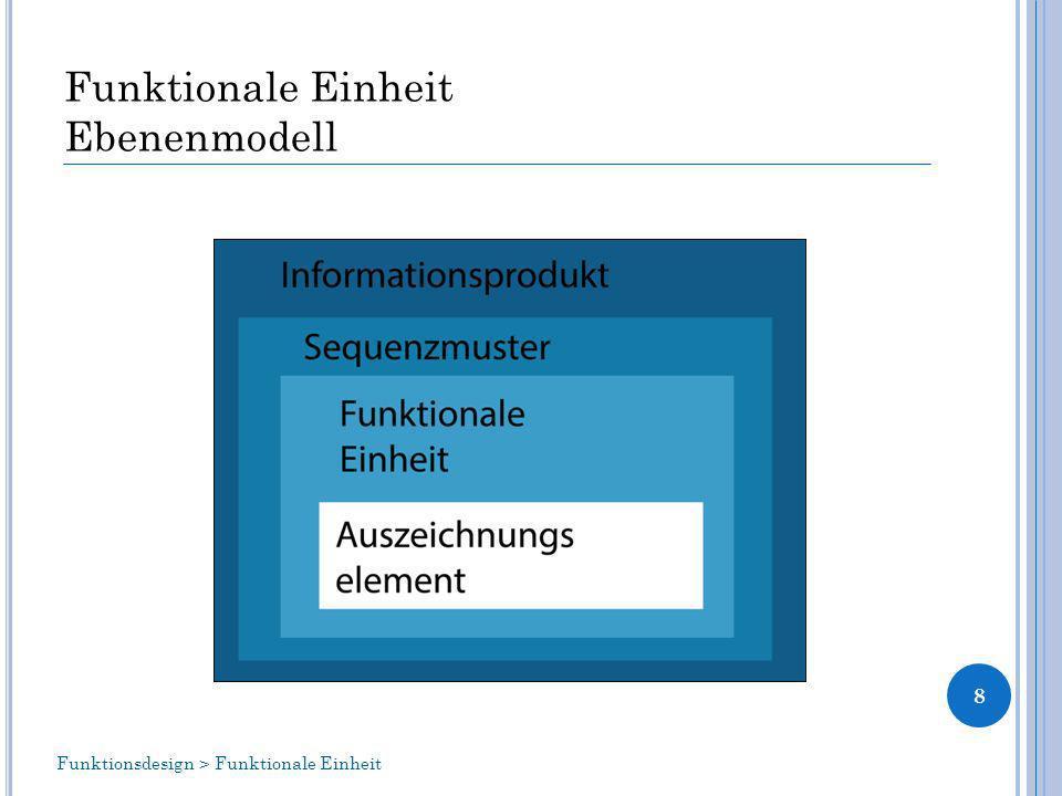 Funktionale Einheit Ebenenmodell