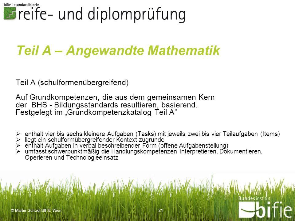Teil A – Angewandte Mathematik
