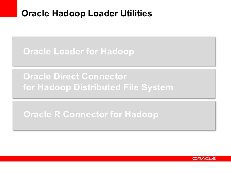 Oracle Hadoop Loader Utilities