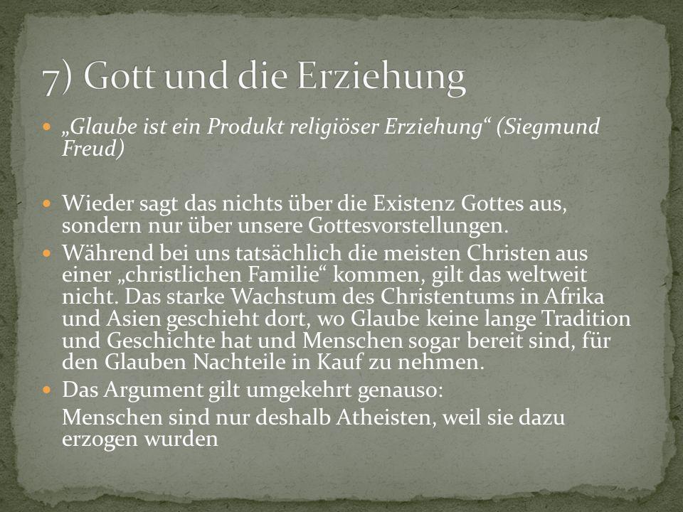7) Gott und die Erziehung