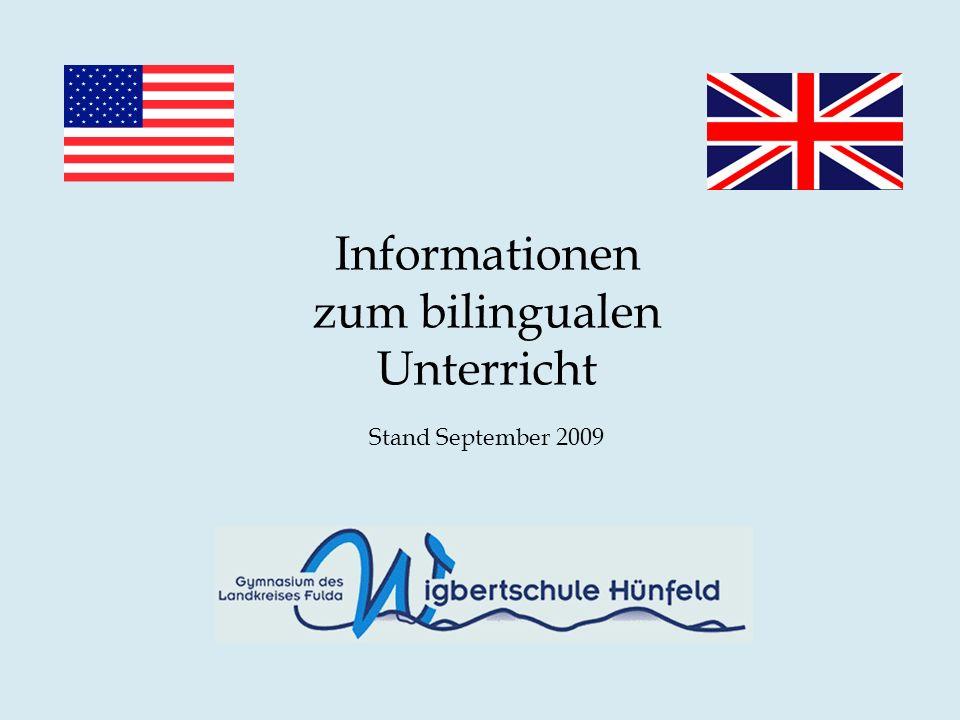 Informationen zum bilingualen Unterricht