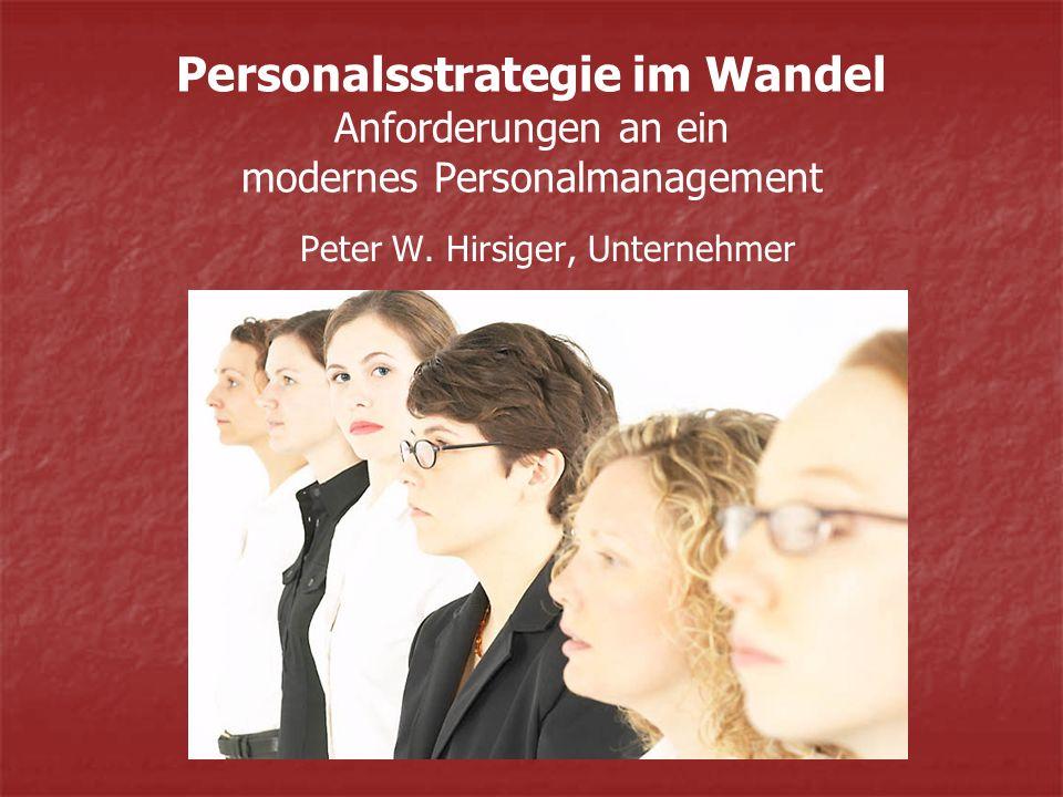 Peter W. Hirsiger, Unternehmer