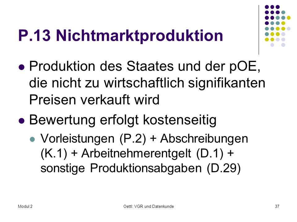 P.13 Nichtmarktproduktion