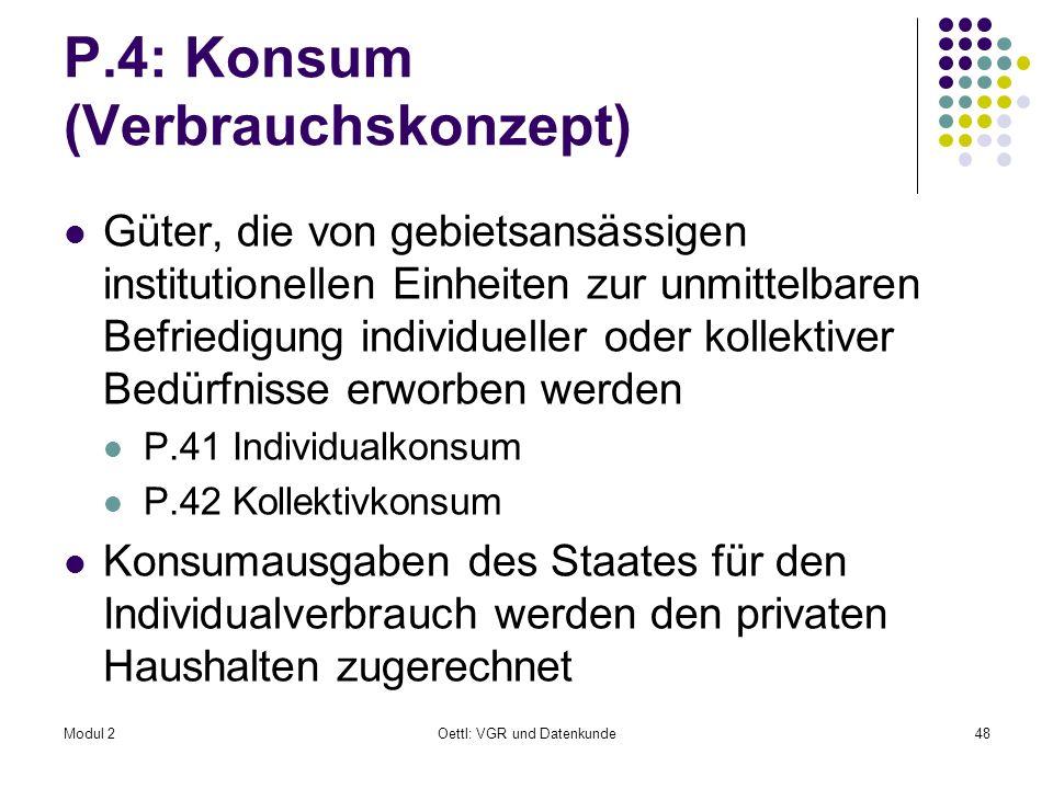 P.4: Konsum (Verbrauchskonzept)