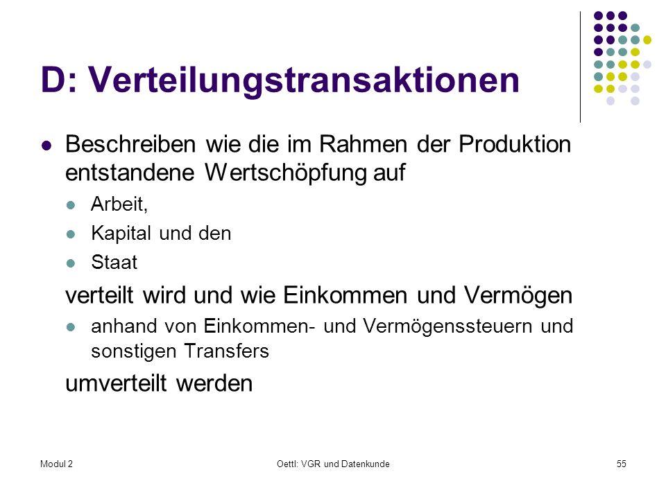 D: Verteilungstransaktionen