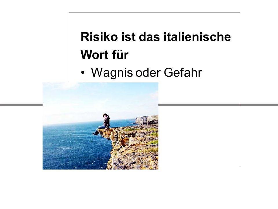 Risiko ist das italienische