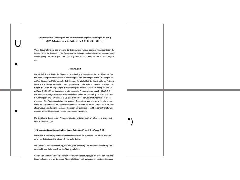 Unterschiede: Direkte Auswirkungen Indirekte Auswirkungen HGB