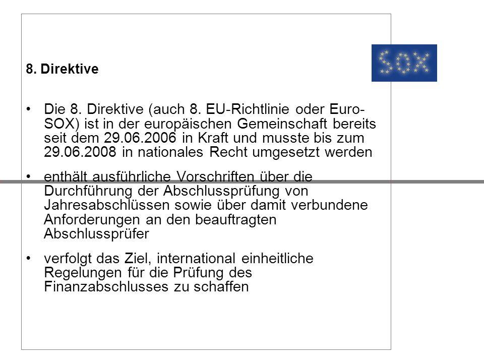 8. Direktive