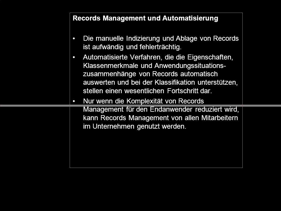 Records Management und Automatisierung