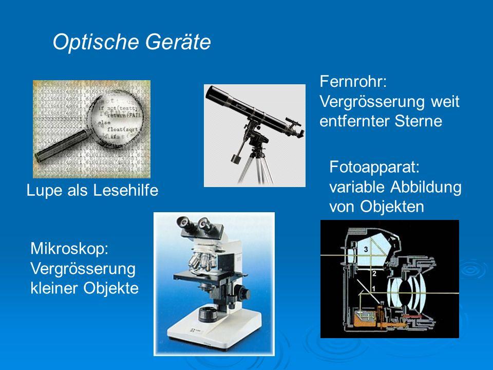Optische Geräte Fernrohr: Vergrösserung weit entfernter Sterne