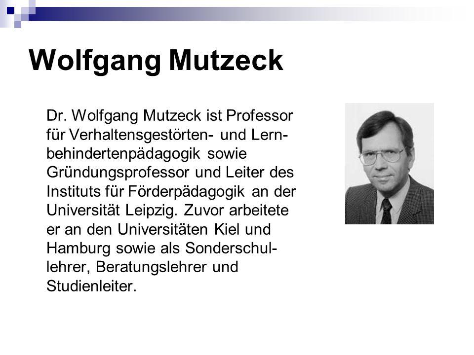 Wolfgang Mutzeck