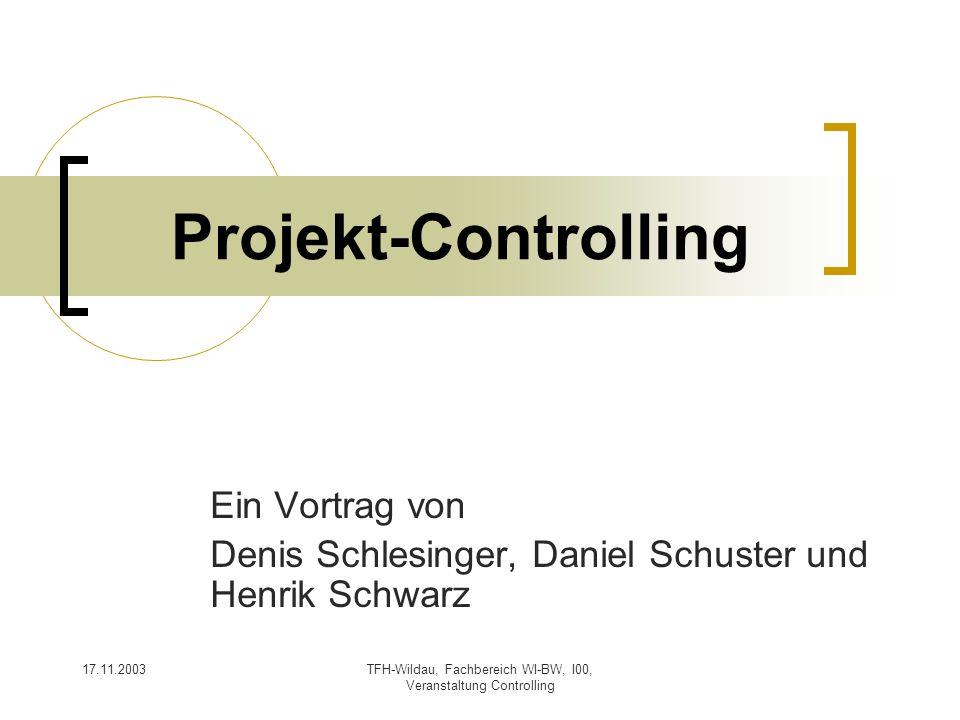 Ein Vortrag von Denis Schlesinger, Daniel Schuster und Henrik Schwarz