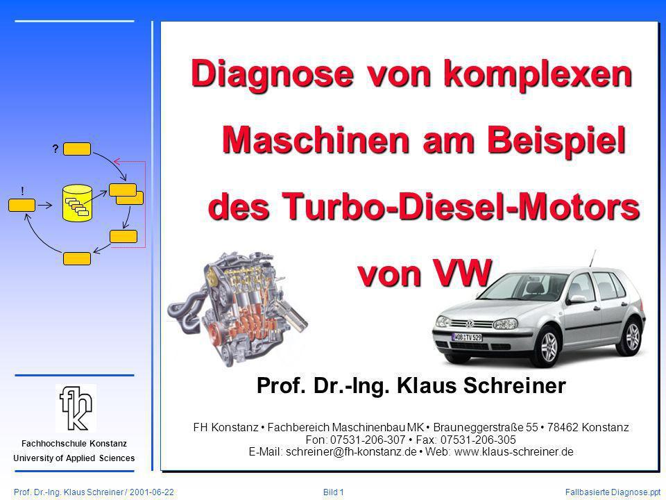 Prof. Dr.-Ing. Klaus Schreiner