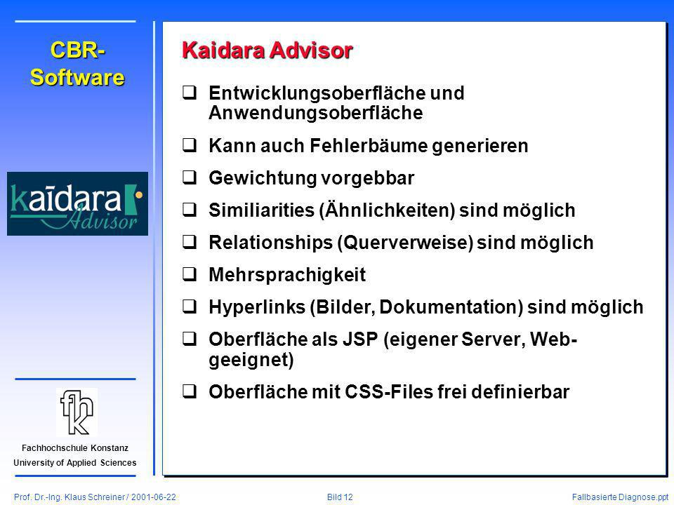 CBR-Software Kaidara Advisor