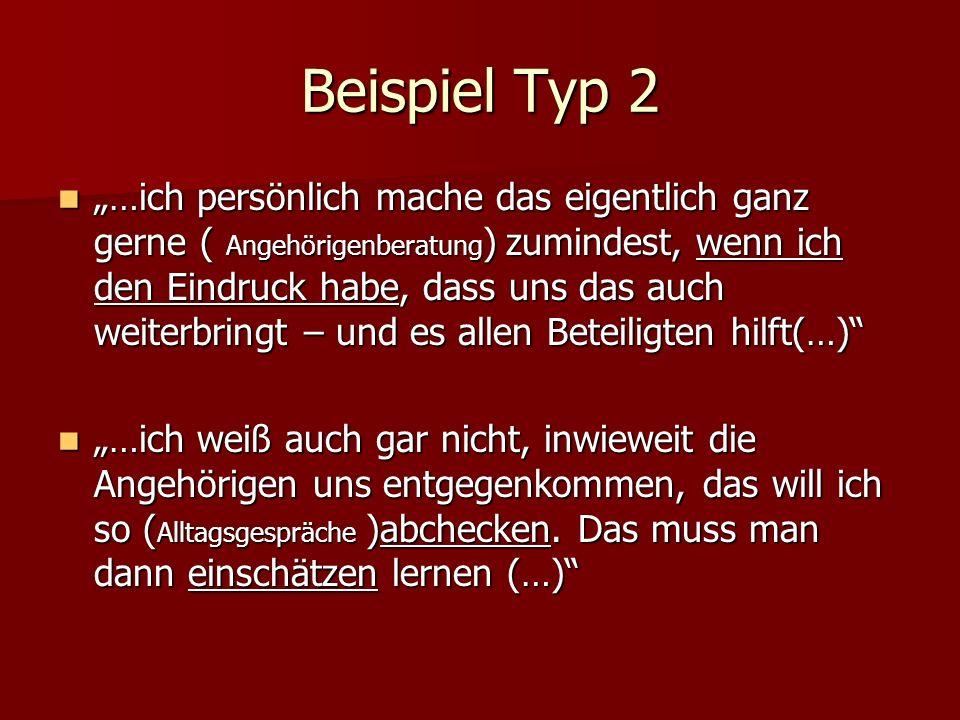 Beispiel Typ 2