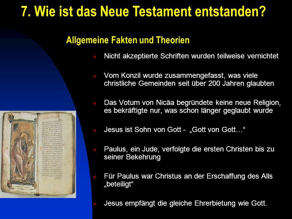 Allgemeine Fakten und Theorien