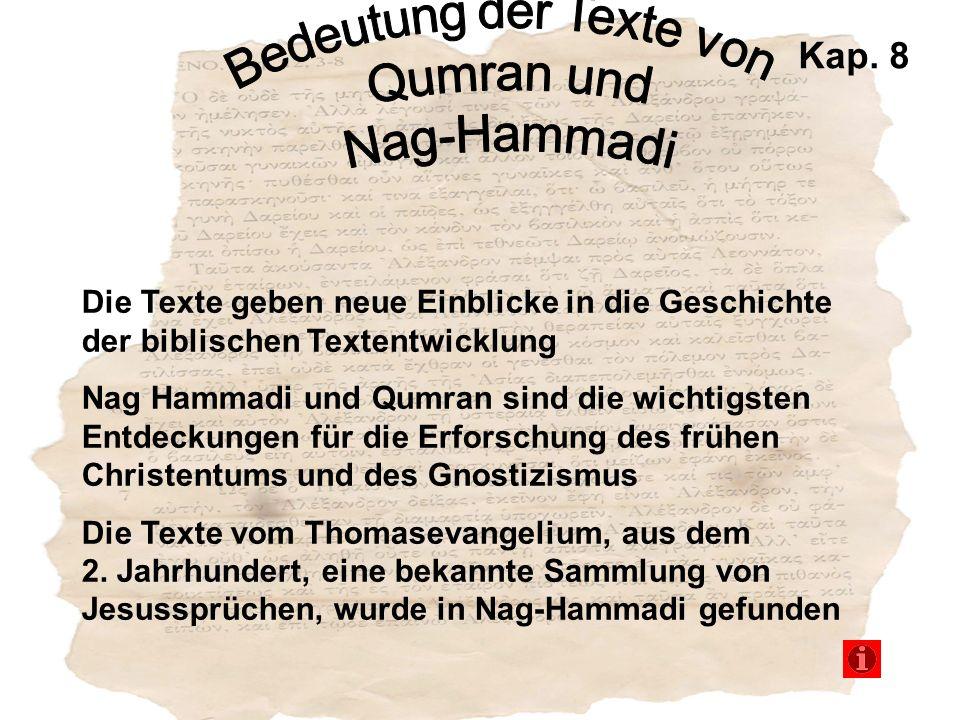 Bedeutung der Texte von
