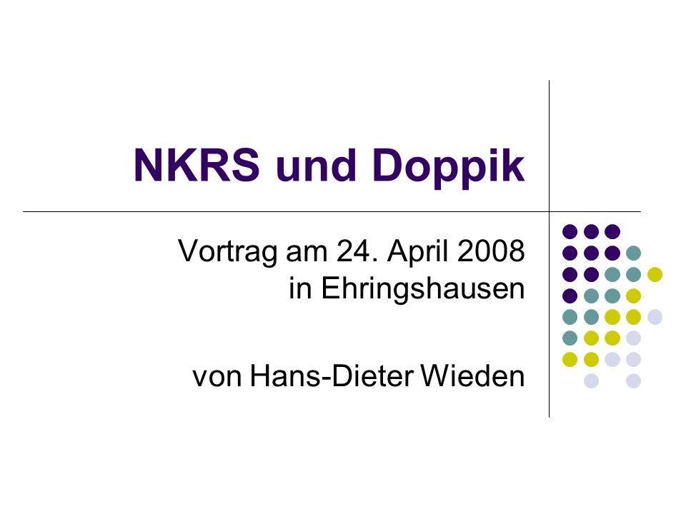 Vortrag am 24. April 2008 in Ehringshausen von Hans-Dieter Wieden