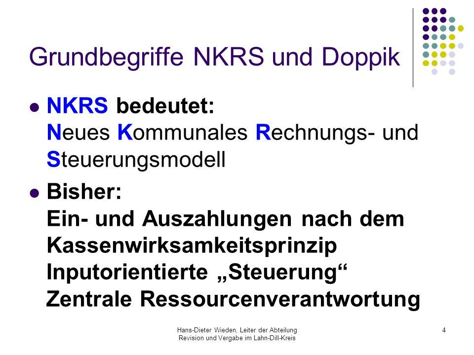 Grundbegriffe NKRS und Doppik