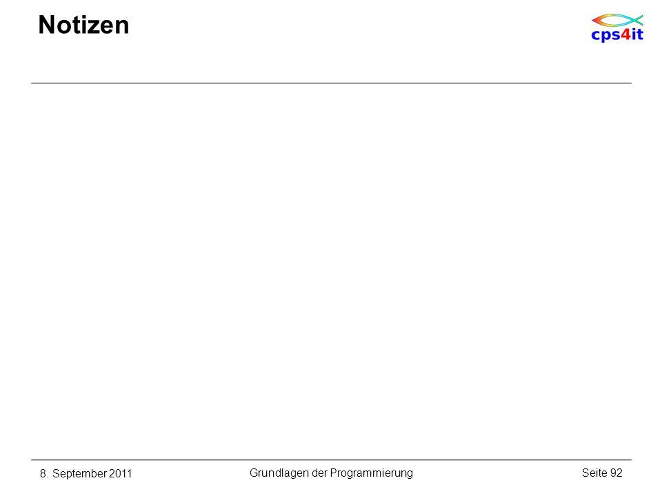 Grundlagen der Programmierung