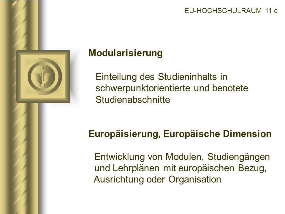 Europäisierung, Europäische Dimension
