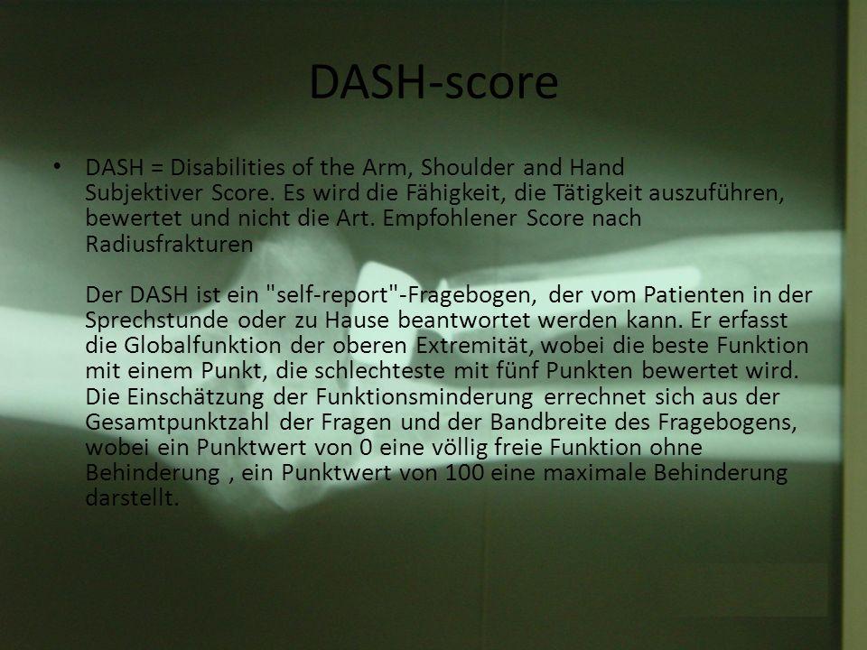 DASH-score