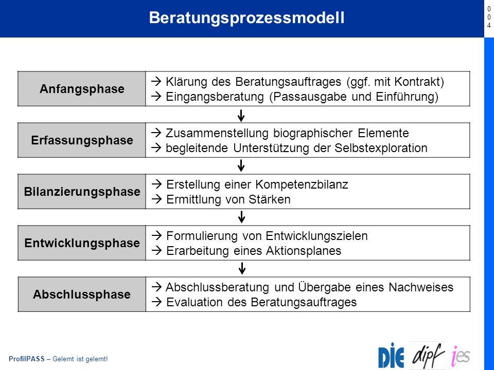 Beratungsprozessmodell