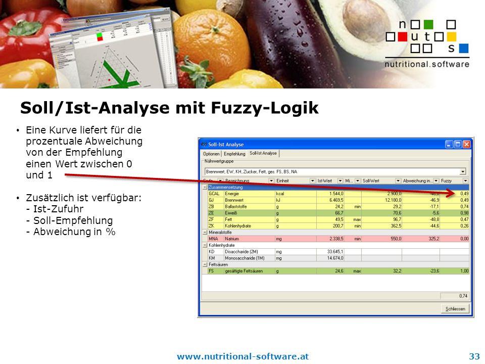 Soll/Ist-Analyse mit Fuzzy-Logik