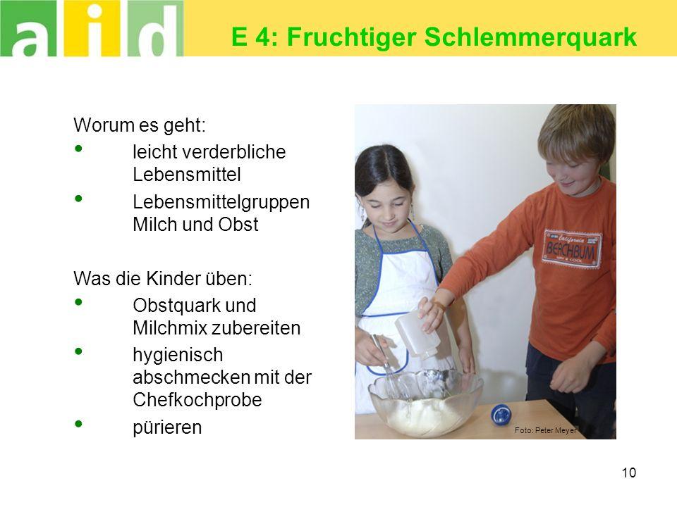 E 4: Fruchtiger Schlemmerquark