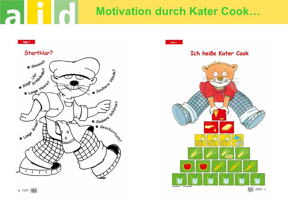 Motivation durch Kater Cook…