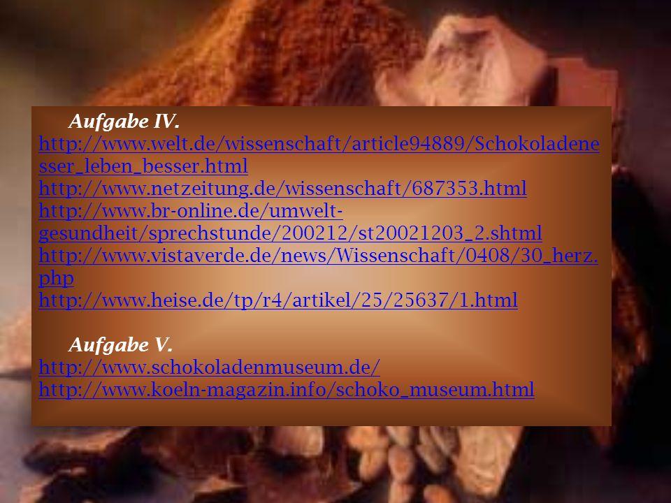 Aufgabe IV. http://www. welt