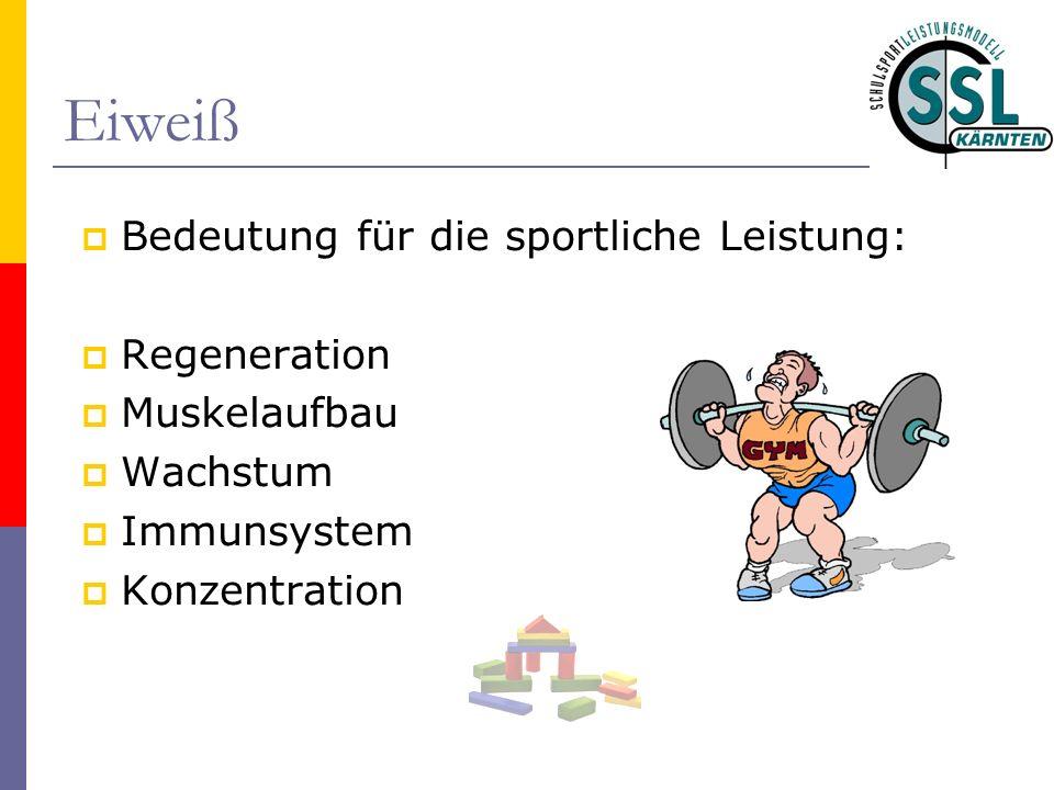 Eiweiß Bedeutung für die sportliche Leistung: Regeneration