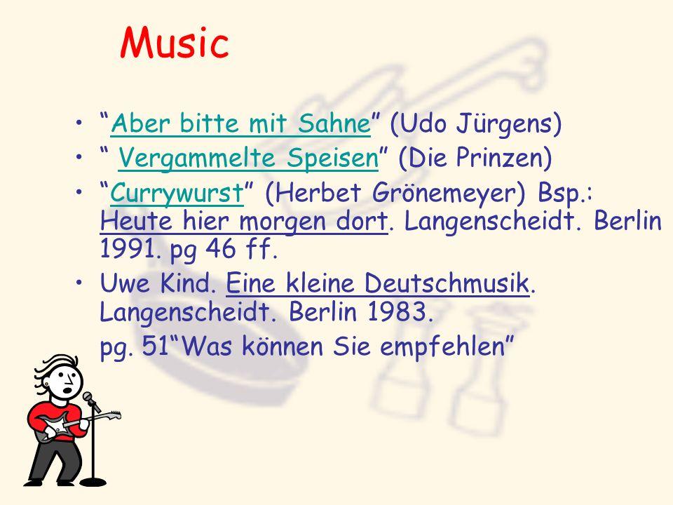 Music Aber bitte mit Sahne (Udo Jürgens)