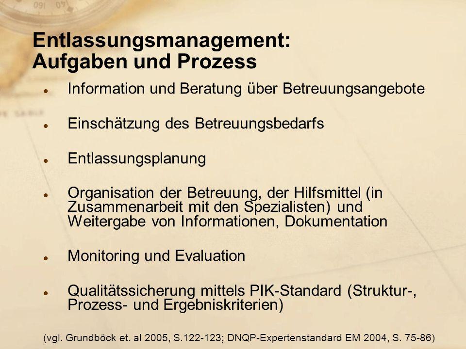 Entlassungsmanagement: Aufgaben und Prozess