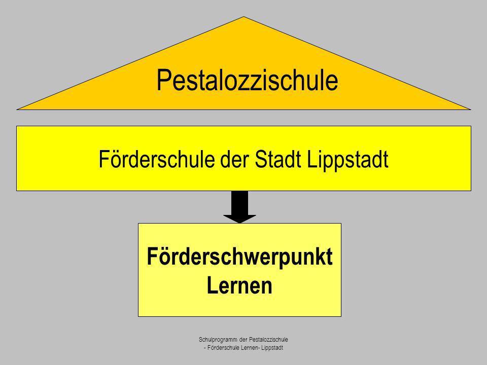 Pestalozzischule Förderschule der Stadt Lippstadt Förderschwerpunkt