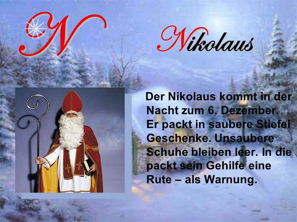 N Nikolaus.