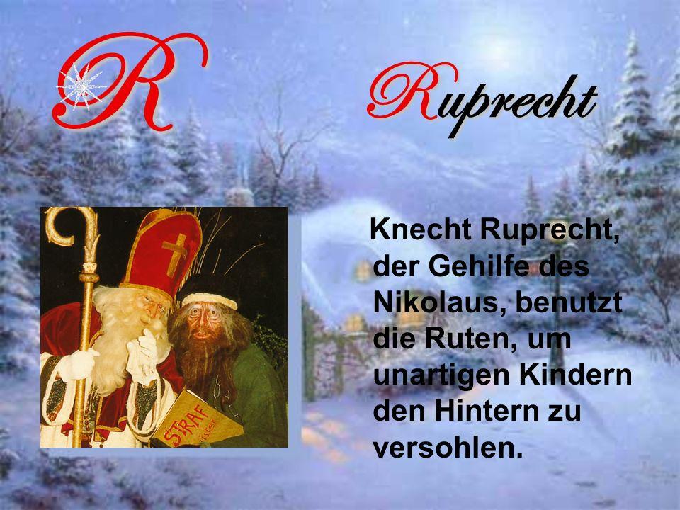 R Ruprecht.