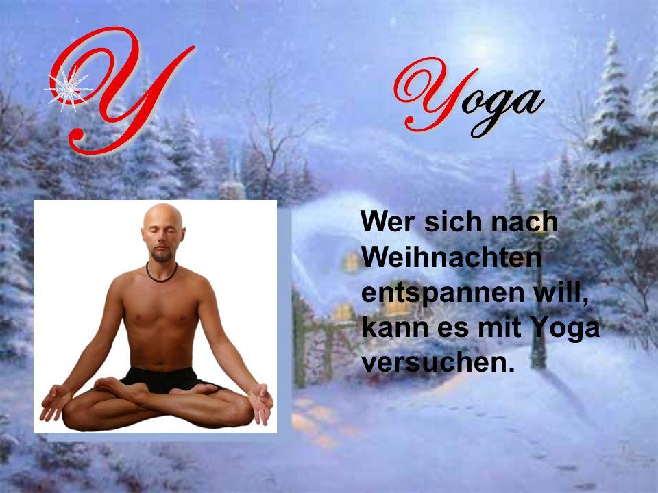Y Yoga Wer sich nach Weihnachten entspannen will, kann es mit Yoga versuchen.