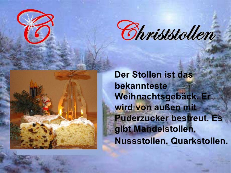 C Christstollen.