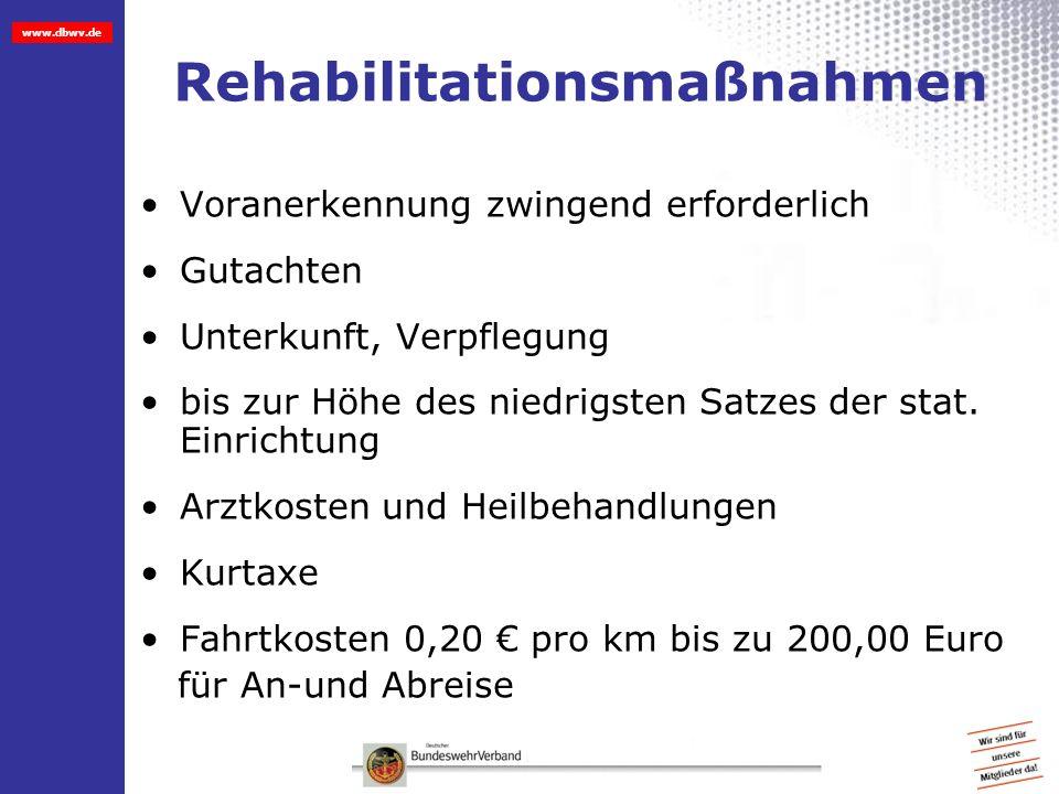 Rehabilitationsmaßnahmen