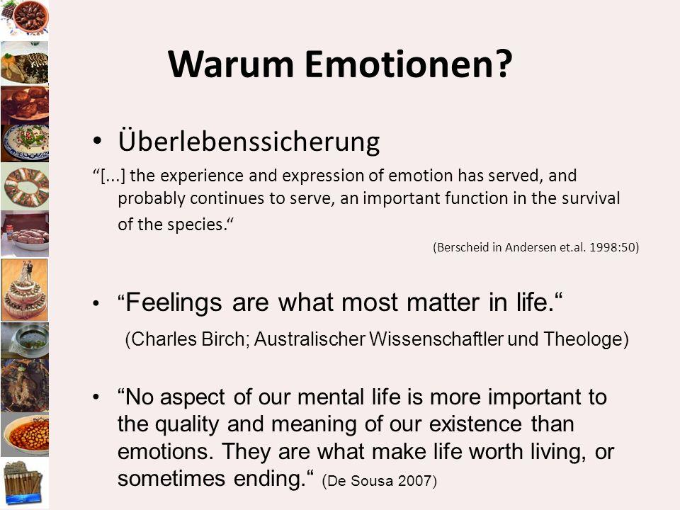Warum Emotionen Überlebenssicherung