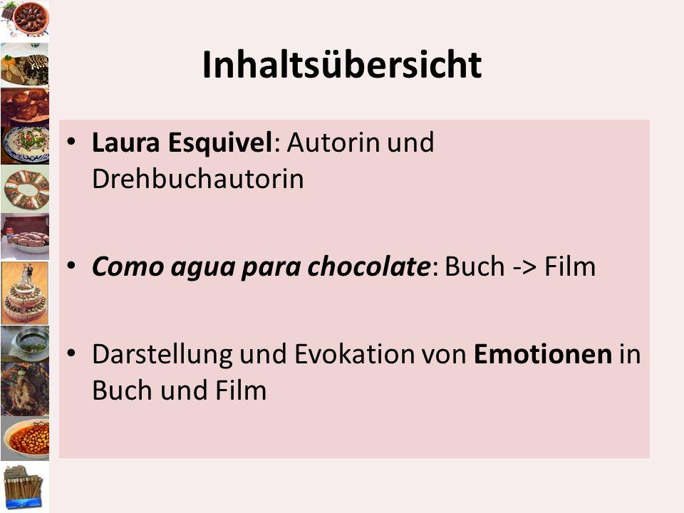 Inhaltsübersicht Laura Esquivel: Autorin und Drehbuchautorin