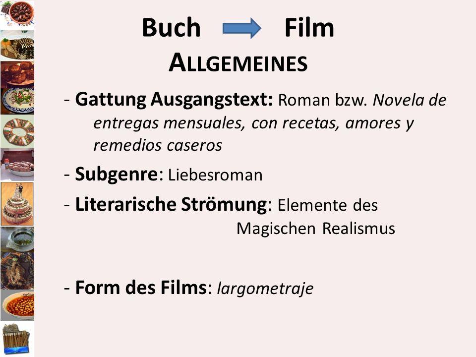 Buch Film Allgemeines