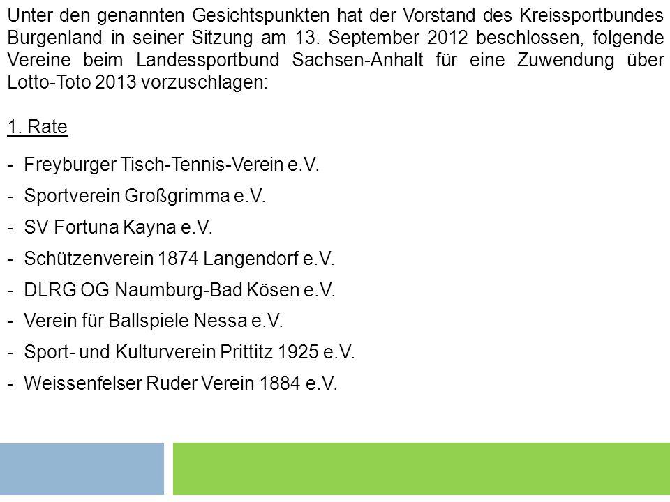 Freyburger Tisch-Tennis-Verein e.V. Sportverein Großgrimma e.V.