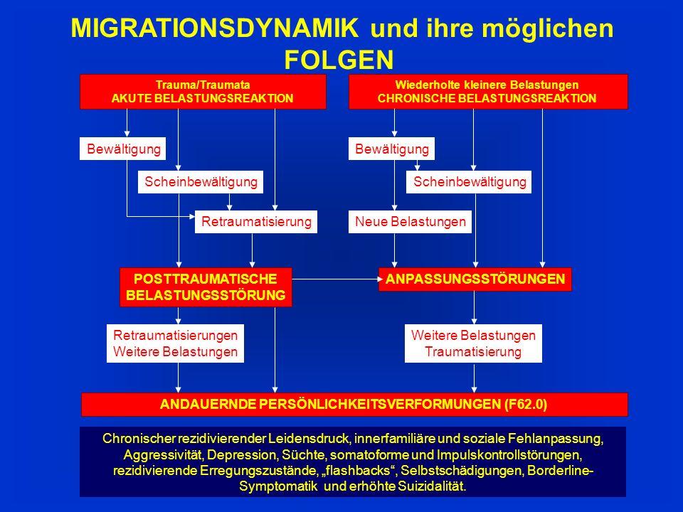 MIGRATIONSDYNAMIK und ihre möglichen FOLGEN