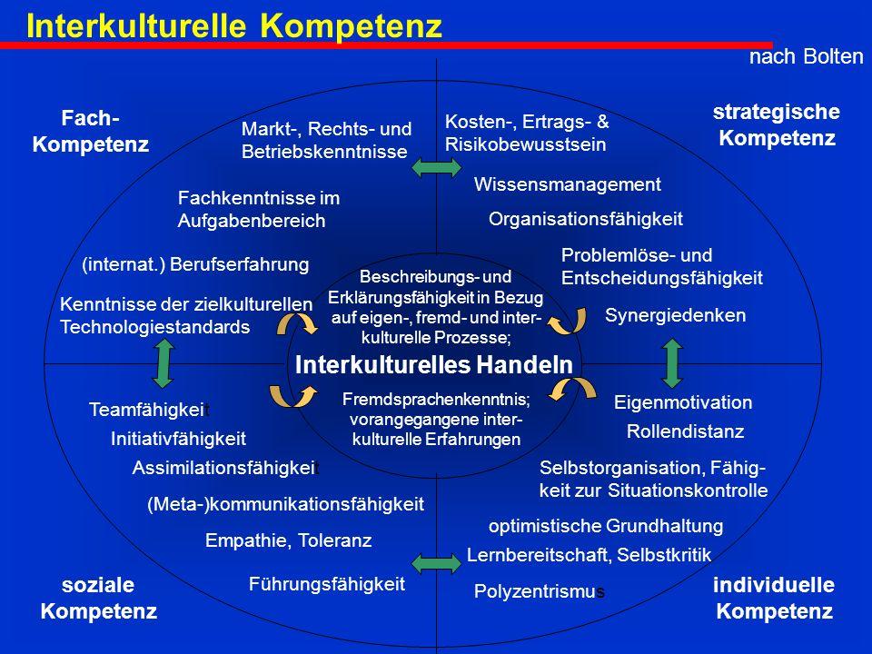 Interkulturelles Handeln