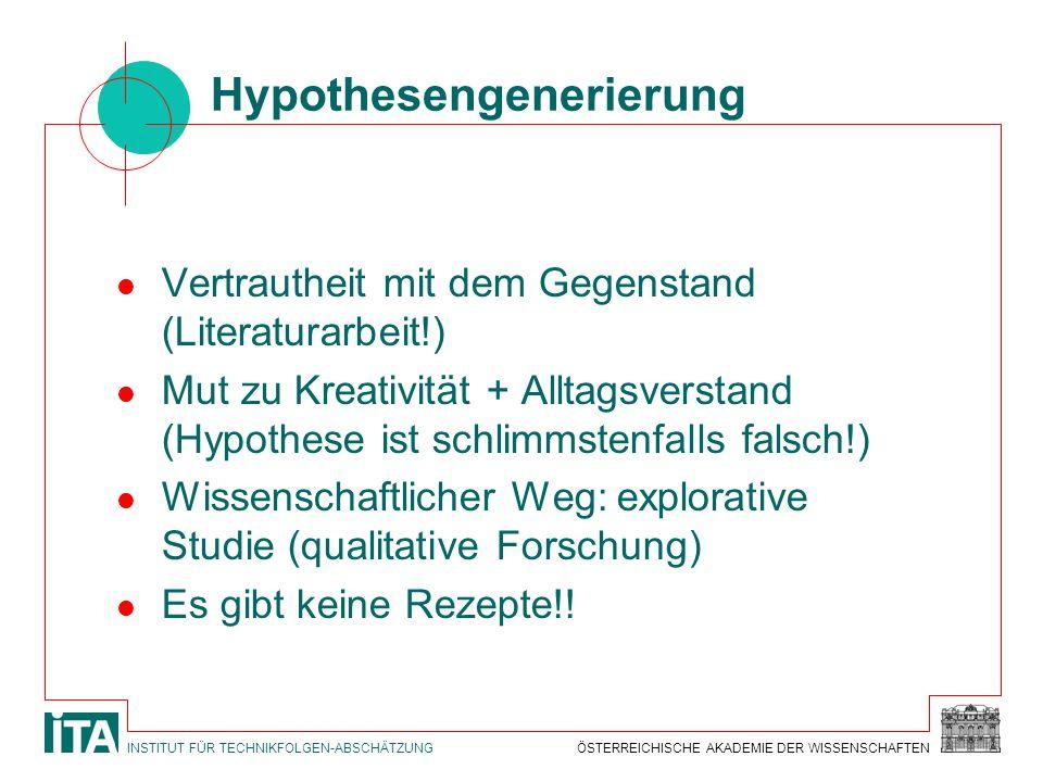 Hypothesengenerierung