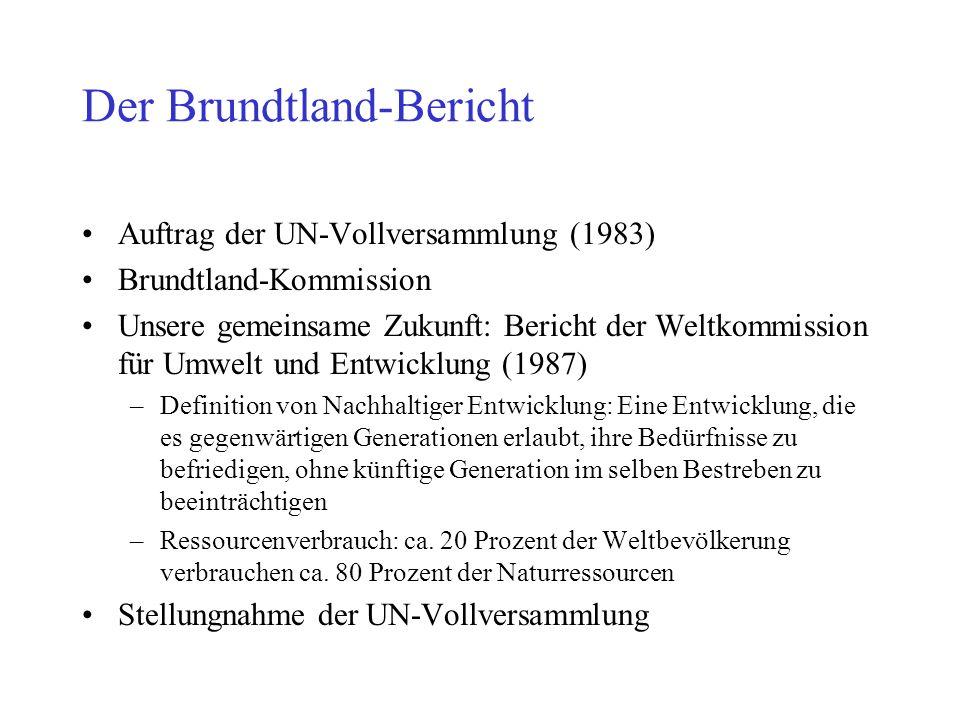 Der Brundtland-Bericht