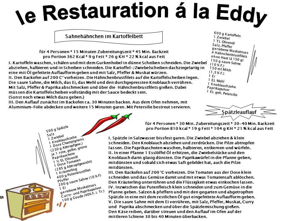 le Restauration á la Eddy