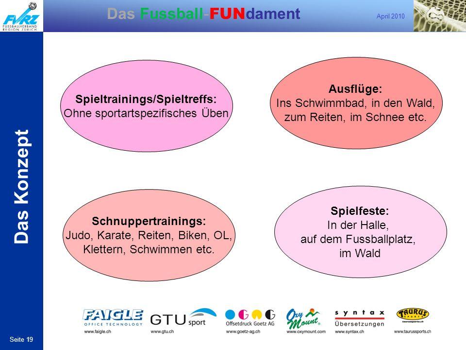 Spieltrainings/Spieltreffs: